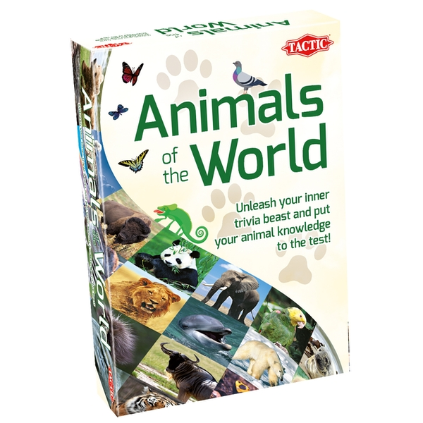 Animals of the World Trivia Game