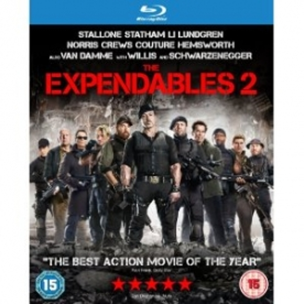 Expendables 2 Blu-ray