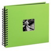 Fine Art Spiral Bound Album 28 x 24cm 50 black pages Kiwi