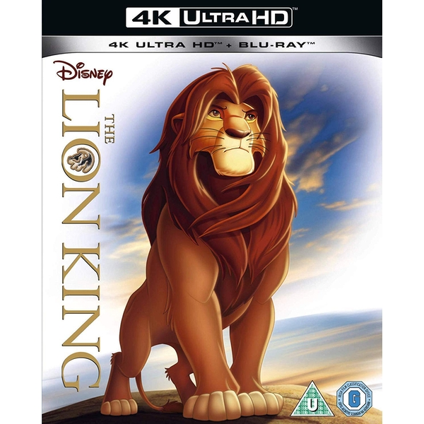 The Lion King 4K UHD + Blu-ray