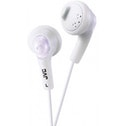 JVC Gumy Bass Boost Stereo Headphones Coconut White