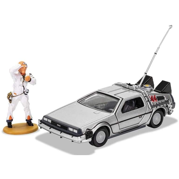 DeLorean and Doc Brown (Back to the Future) Figures