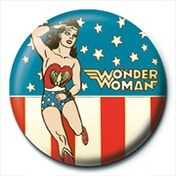 Wonder Woman - Stars and Stripes Badge