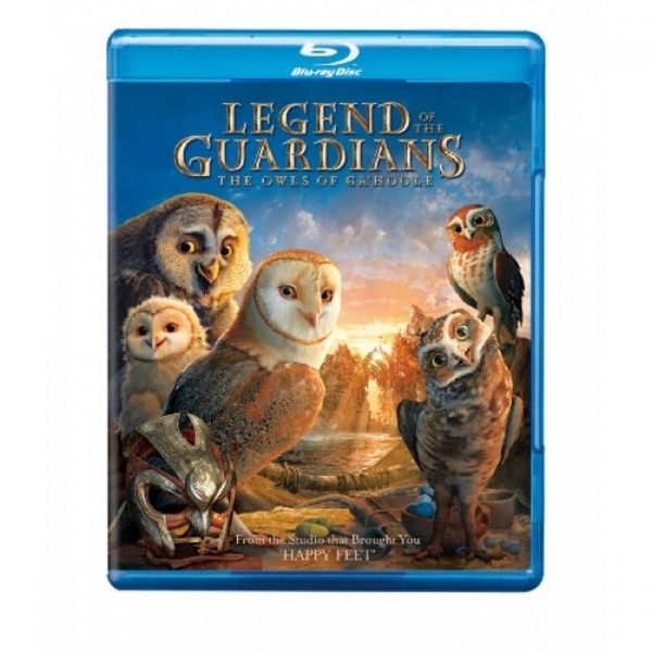 Ex-Display Legend of the Guardians: The Owls of Ga'Hoole Blu-ray Used - Like New