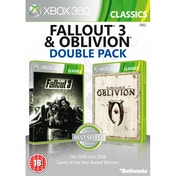 Fallout 3 & The Elder Scrolls IV Oblivion Double Pack Game (Classics) Xbox 360