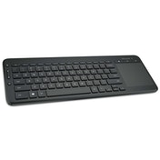 Microsoft All-in-One Media Keyboard with Integrated Track Pad