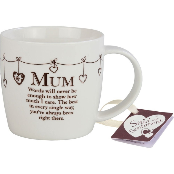 Said with Sentiment Ceramic Mug Mum