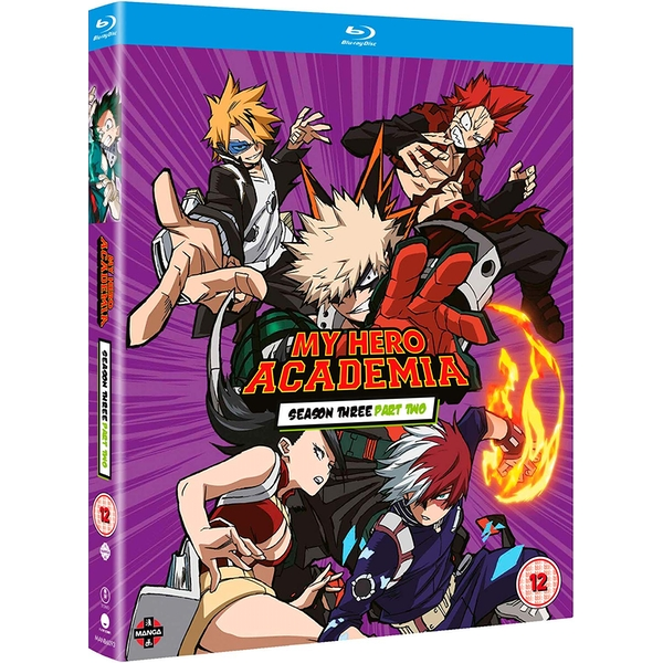 My Hero Academia: Season Three Part Two Blu-ray