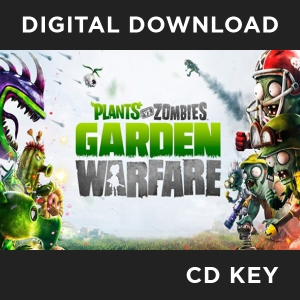 Plants vs Zombies Garden Warfare PC CD Key Download for Origin ...