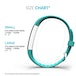 Yousave Activity Tracker Single Strap - Mint Green (Large) - Image 6