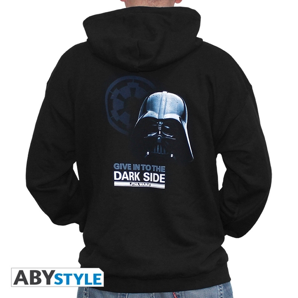 Star Wars - Dark Side Men's XX-Large Hoodie - Black