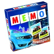 Transport Memo Memory Board Game