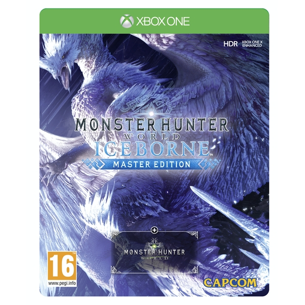 Monster Hunter World Iceborne Master Steelbook Edition Xbox One Game - Image 1