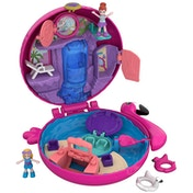 Polly Pocket Pocket World Flamingo Floatie Compact Play Set
