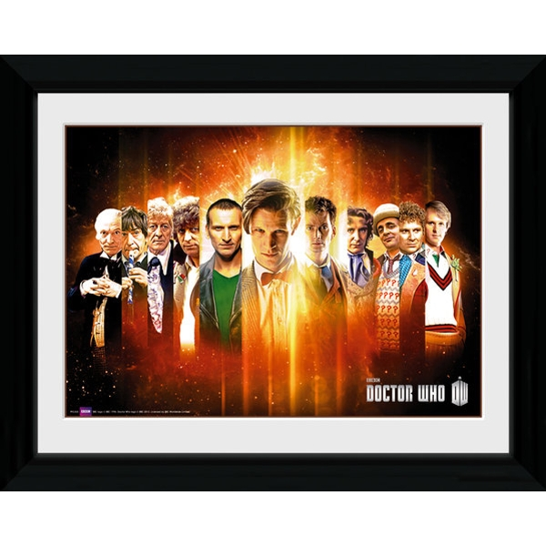Doctor Who Regenerate Framed Photographic Print