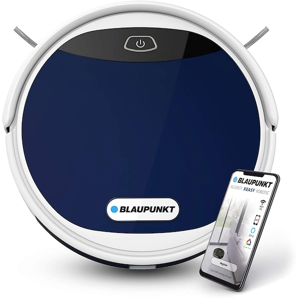 Bluebot XEASY Robot Vacuum Cleaner Blue - Featuring control via Alexa or Google Home