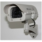 GreenWorld Outdoor Solar Powered Dummy CCTV Security Camera