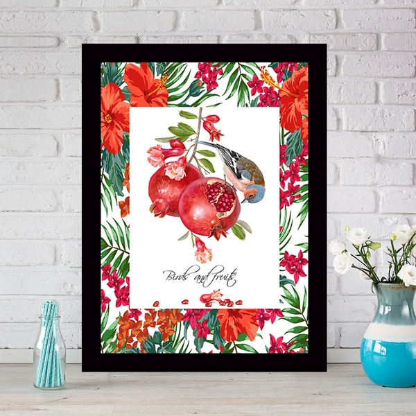 SCZ670219942 Multicolor Decorative Framed MDF Painting