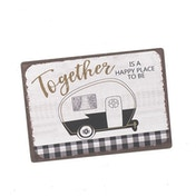 Together Happy Place Caravan Magnet by Heaven Sends
