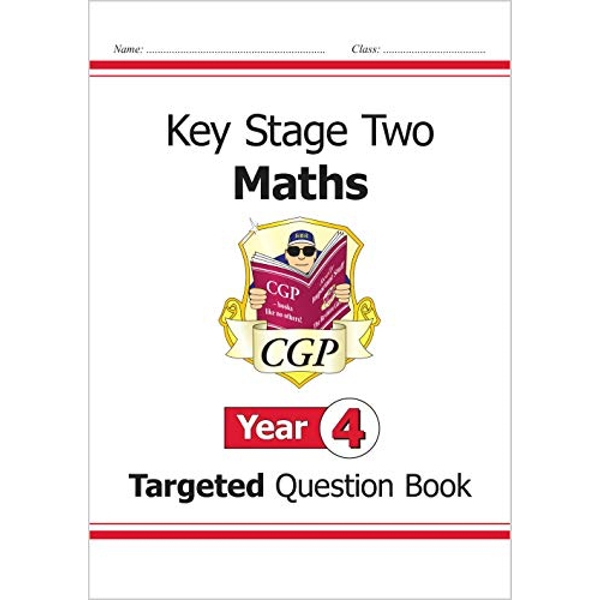 KS2 Maths Question Book - Year 4 by CGP Books (Paperback, 2008)