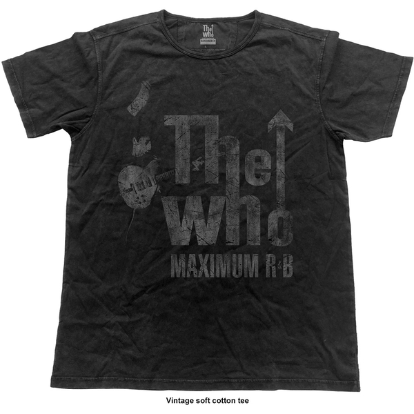 The Who - Max R&B Vintage Unisex Medium T-Shirt - Black