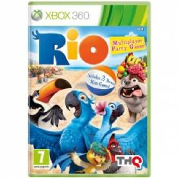 Rio The Video Game Xbox 360