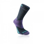 Bridgedale Woolfusion Trekker Women's Large Socks (Black/Purple)