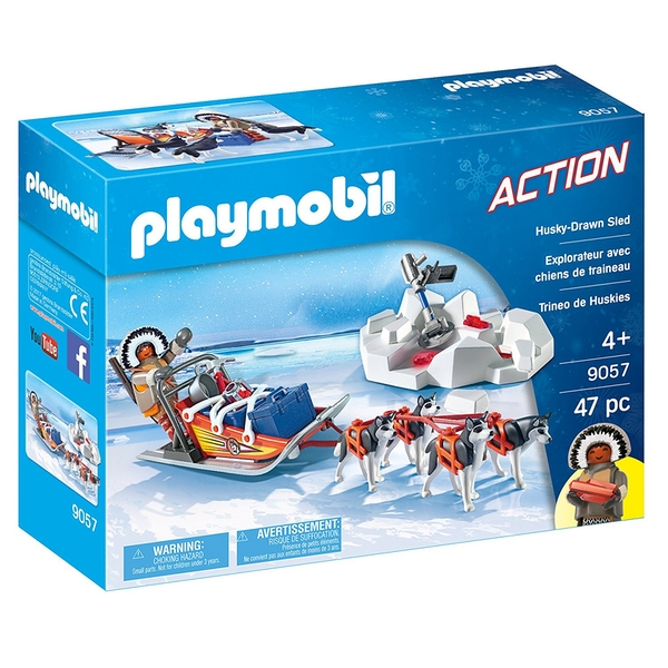 Playmobil Husky Drawn Sled