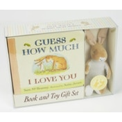 Guess How Much I Love You Board book with Stuffed Toy