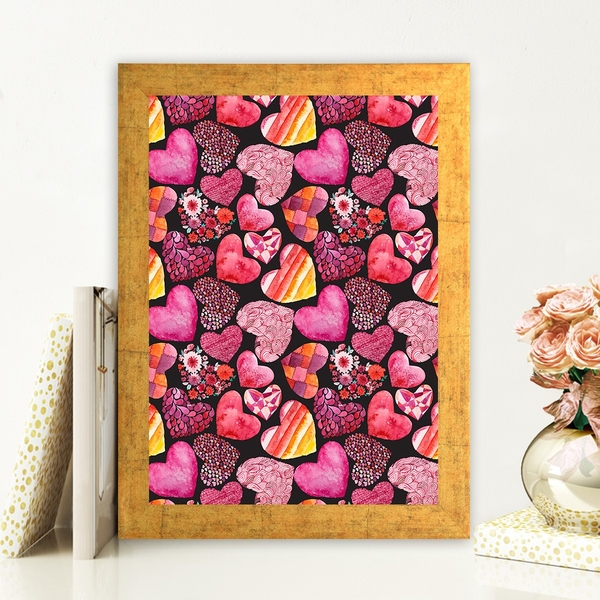 AC63193367 Multicolor Decorative Framed MDF Painting