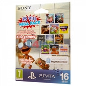 Sony PlayStation Vita 10 Game Mega Pack + 16GB Memory Card PS Vita