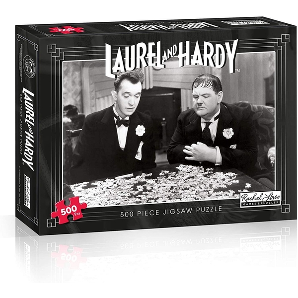 Laurel & Hardy Jigsaw Puzzle - 500 Pieces
