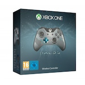 Halo 5 Guardians Xbox One Wireless Controller Limited Edition Silver/Blue