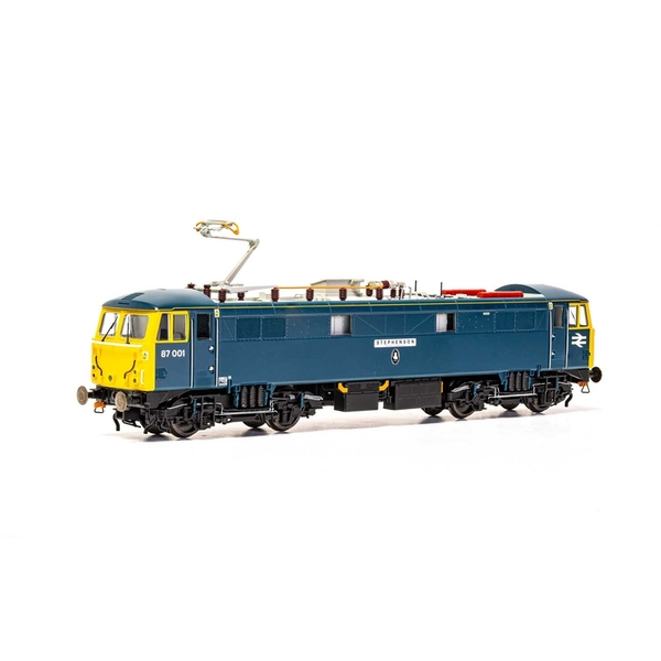 Hornby BR Class 87 Bo-Bo 87001 'Royal Scot' & 'Stephenson' Era 11 Model Train