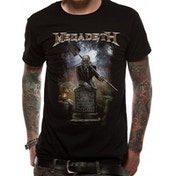 Megadeth - 35 Years Graveyard Men's Small T-Shirt - Black