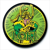 Marvel Retro - Loki Badge