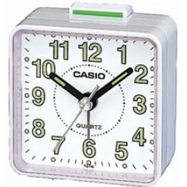 Casio Beep Alarm Clock White