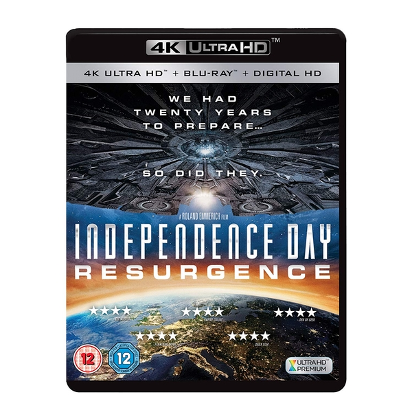 Independence Day: Resurgence 4KUHD   Bluray