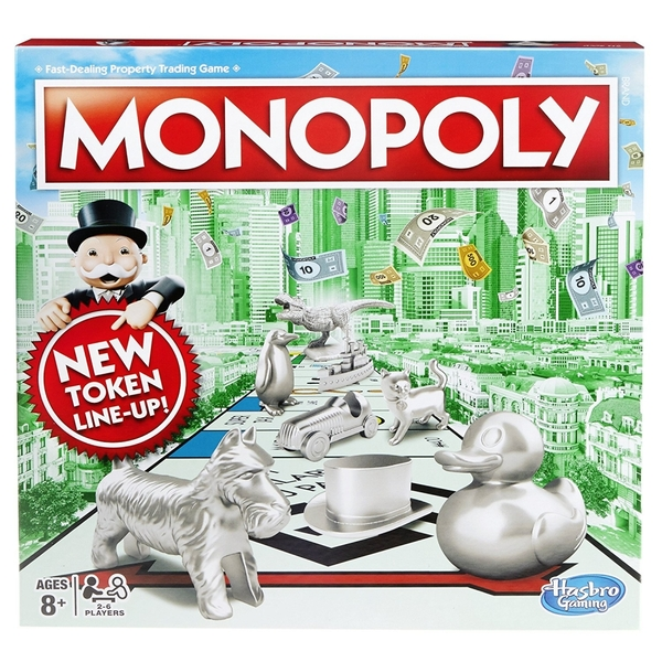 Monopoly (2017 Edition) Classic Board Game