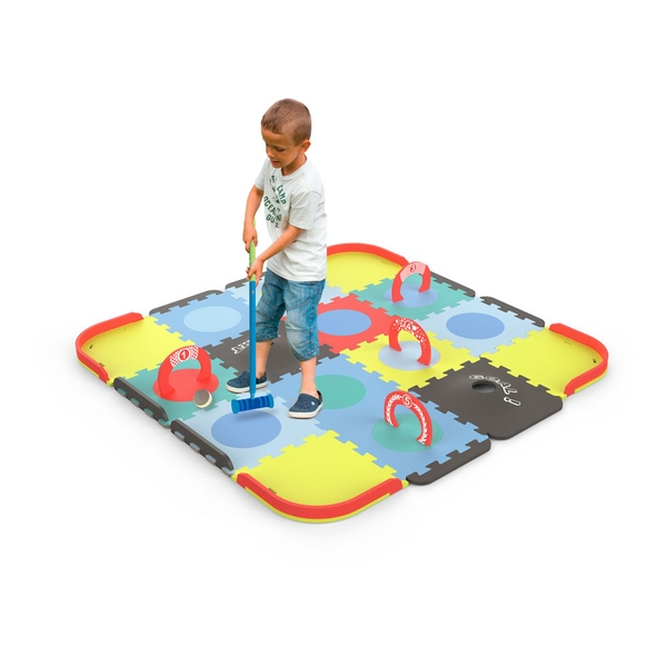Darpeje Customisable Mini Croquet Floor Mat Puzzle