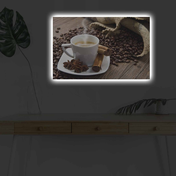 4570KDACT-009 Multicolor Decorative Led Lighted Canvas Painting