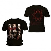 Slipknot Mezzotint Decay Mens Black T Shirt: Small