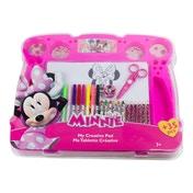 Disney Minnie Mouse My Creative Pad with 34 Piece Creative Accessories Kit