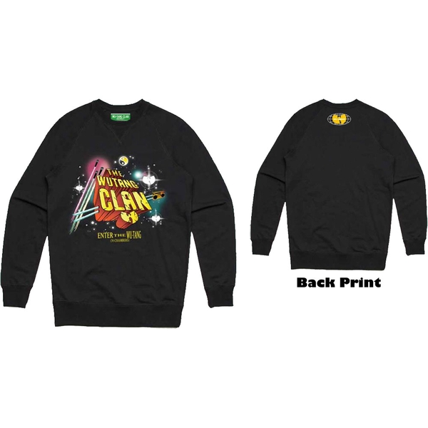 Wu-Tang Clan - Gods of Rap Men's Medium Sweatshirt - Black