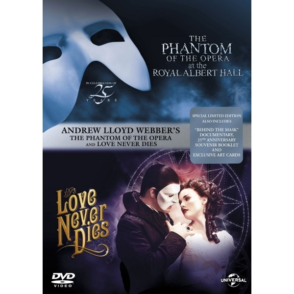 The Phantom Of The Opera / Love Never Dies: Special Limited Edition Box Set DVD