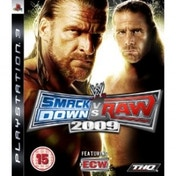 Ex-Display WWE Smackdown vs Raw 2009 Game PS3 Used - Like New
