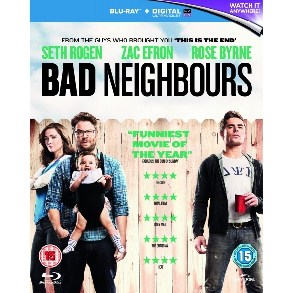Bad Neighbours Blu-ray