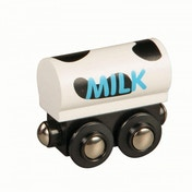 Wooden Railway Milk Train