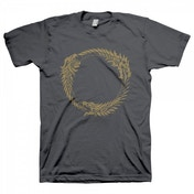 The Elder Scrolls Online Ouroboros Symbol T-Shirt Medium Grey
