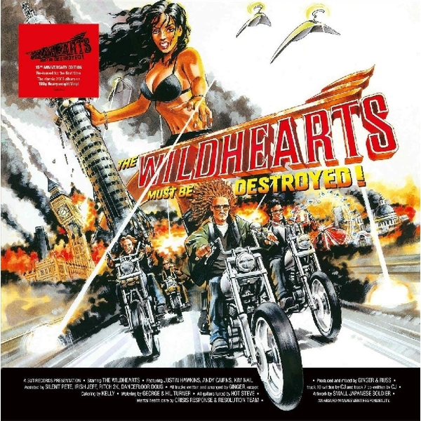 The Wildhearts - The Wildhearts Must Be Destroyed Vinyl